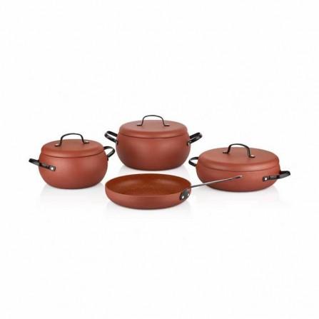 Set de 7 pièces Korkmaz MONDEA Cookware(A2656)