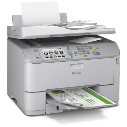 Imprimante MULTIFONCTION JET D'ENCRE 4-EN-1 EPSON WORKFORCE PRO WF-5690DWF (C11CD14403)