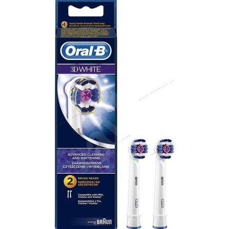 BROSSETTES ORAL-B Braun - White (EB18-2)