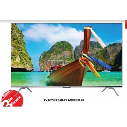 TV 65'' G3 Smart Android 4K TELEFUNKEN (TV65G3A)