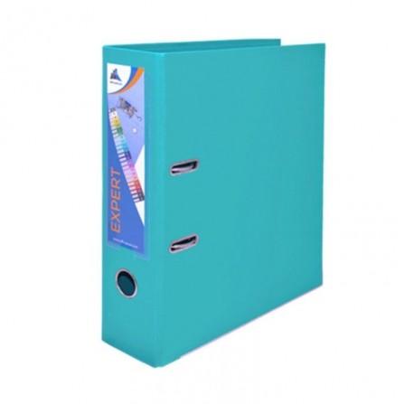 Classeur à Levier OfficePlast Expert Dos 80mm - Turquoise (1400622C50)