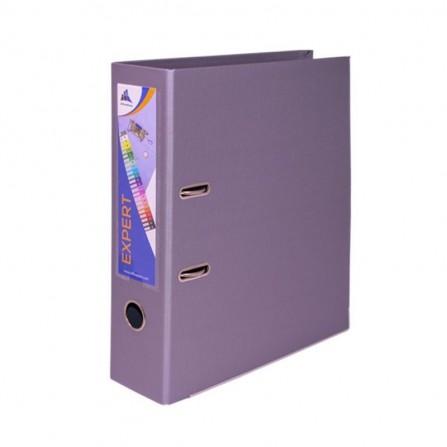 Classeur à Levier OfficePlast EXPERT Dos 80mm A4 - Violet-Pastel (1400622C54)