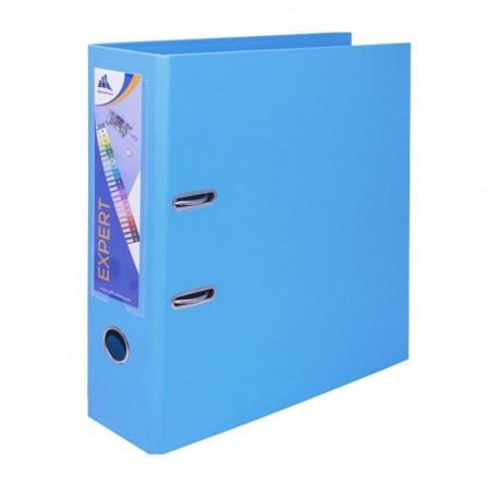 Classeur à Levier OfficePlast EXPERT Dos 80mm A4 - Bleu-Pastel (1400622C55)