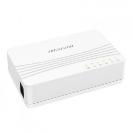 Switch de Bureau HIKVISION - 5 Ports (DS-3E0105D-E)