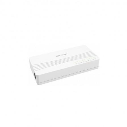 Switch de Bureau HIKVISION / 8 ports 10-100 MBPS (DS-3E0108D-E)