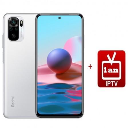 Smartphone XIAOMI Redmi Note 10 - 6GO - Pebble White(REDMI-NOTE10-6-Pebble White)