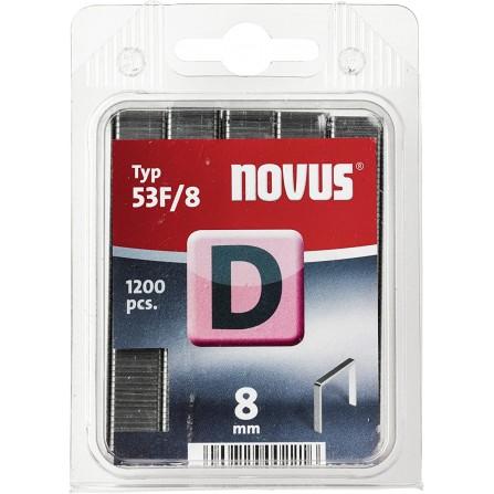 "Agrafes NOVUS ""D"" 53F/8 (000538)"