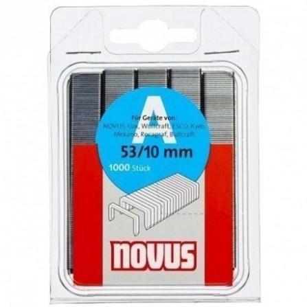 """Agrafes NOVUS""""A"""" 53/10 PQ/1000 (531000)"""