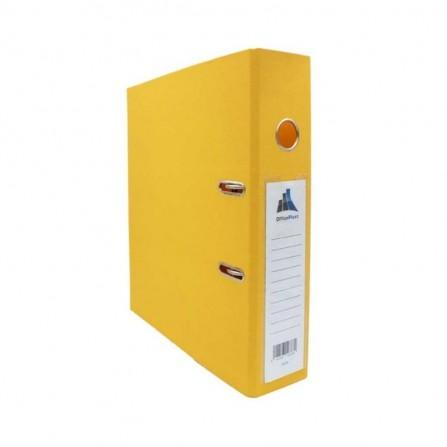 Classeur à Levier Office Plast ESSENTIAL Dos 75 mm Jaune (1400601C7)