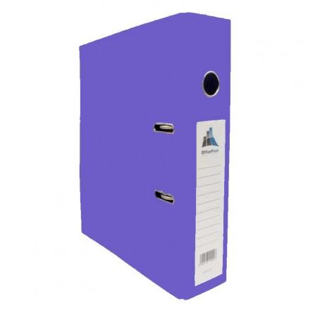 Classeur à Levier Office Plast ESSENTIAL Dos 75 mm Violet (1400601C15)