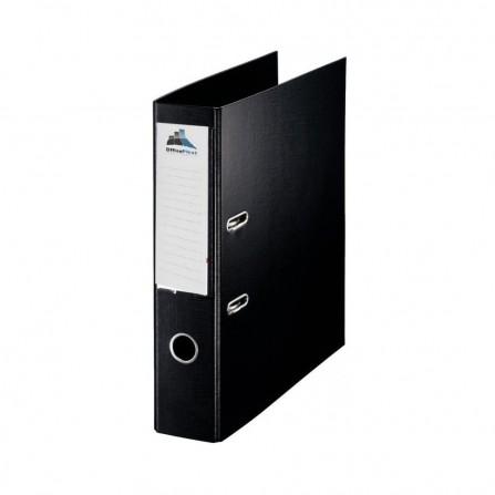 Classeur à Levier Office Plast ESSENTIAL Dos 75 mm Noir (1400601C9)