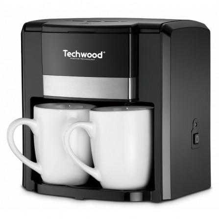 Cafetière Techwood - 2 tasses - 6 L - Noir (TCA-206)