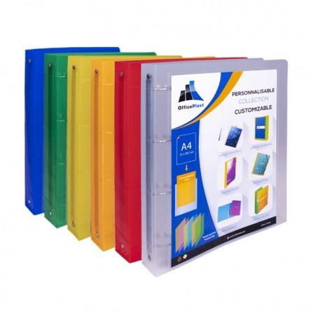 Classeur Rigide OfficePlast Dos 40 mm - Bleu (1400005C3)
