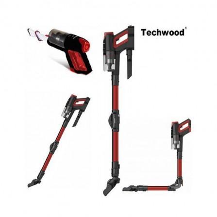 Aspirateur sans fil  TECHWOOD - 800 mL - Rouge  (TAB-6625)