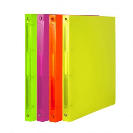 Classeur PP Souple Translucide OfficePlast Dos 16 mm (1400117C1)