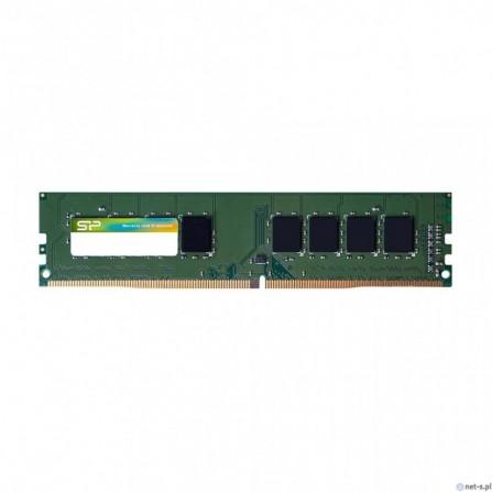 Barette Mémoire Silicon Power pour Pc de bureau DDR4-2400 CL17 UDIMM / 4 Go - (SP004GBLFU240C02)