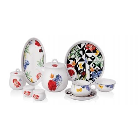 Ensemble Petit-déjeuner pour 6 personnes Asiyan Collection - 30 pièces (A8732)