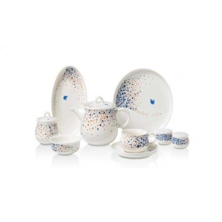 Ensemble Petit-déjeuner pour 6 Personnes Asiyan Collection - 30 pièces (A8721)