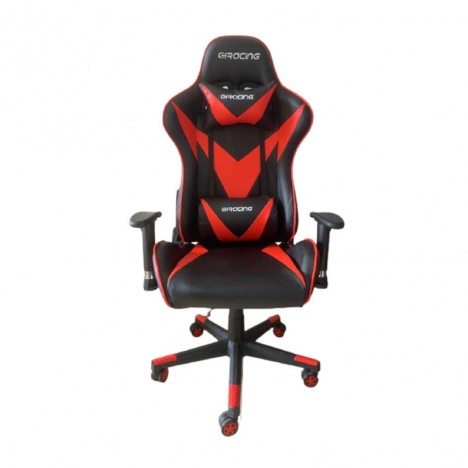 Chaise Pilote Gaming - Rouge (4400015052-RED)