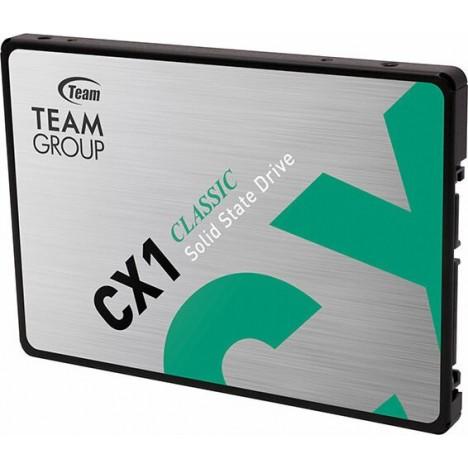 Disque Dur Interne TEAMGROUP CX1 960GO SSD SATA (T253X5960G0C101)