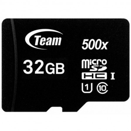 Carte Mémoire TEAMGROUP Micro SDHC 32 Go Class10 (TUSDH32GCL10U02)