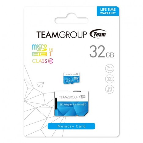 Carte Mémoire TEAMGROUP Color UHS-I 32GB (TCUSDH32GUHS40)