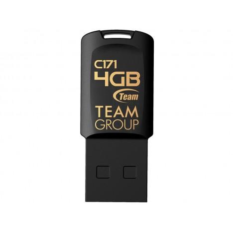Clé USB 2.0 TEAMGROUP c171 - 4 Go - Noir (TC1714GB01)