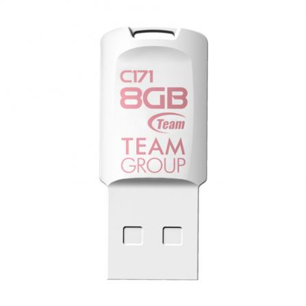 Clé USB Team Group C171 8 Go - Blanc (TC1718GW01)