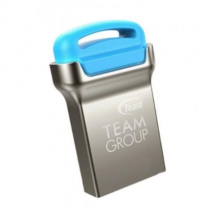 Clé USB TEAMGROUP C161 8 GO SILVER - Bleu (TC1618GL01)