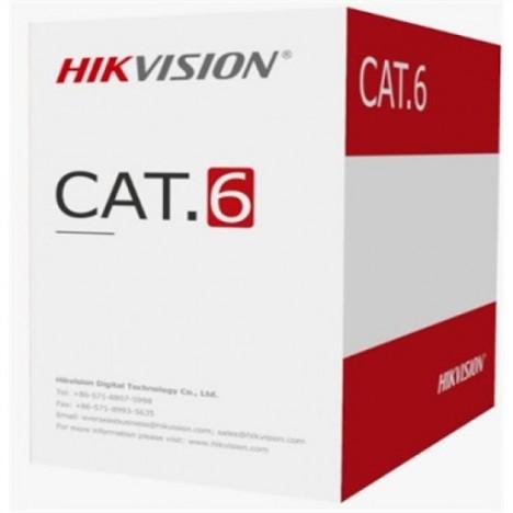 Bobine Cable Réseau Hikvision Cat6 UTP 305 Mètre (DS-1LN6U-W/CCA)