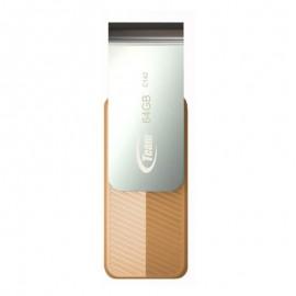 Clé USB TEAMGROUP C142 - 64 Go - Orange (TC14264GN01)