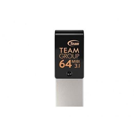 Clé USB OTG Type C TeamGroup M181 - 64 Go - USB 3.1 (TM181364GB01)