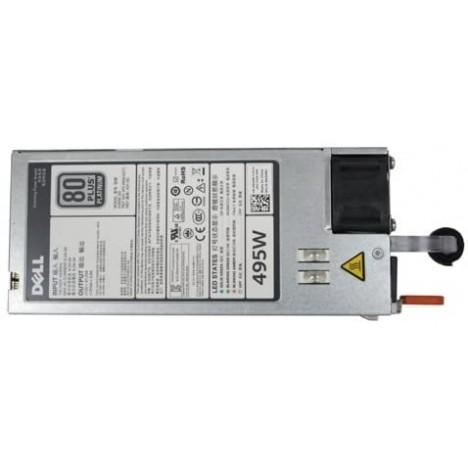 Bloc d'alimentation Unique, Hot-Plug (1+0), 495 W, CusKit (405-AANM)