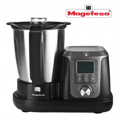 Robot Culinaire Multifonction Magchef - 1200 W - 3,3 L - Noir (MGF4550)