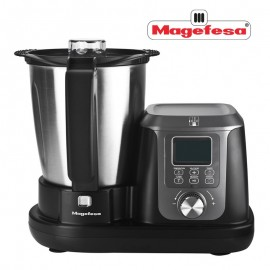 Robot Culinaire Multifonction Magchef - MAGEFESA - 1200 W - 3,3 L - Noir (MGF4550)