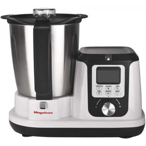 Robot Culinaire Multifonction Magchef plus - 1200 W - 3.3 L - Blanc (MGF4540)