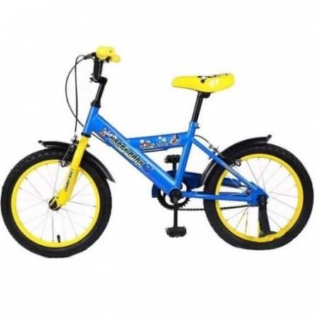 Vélo 16 G Happy Park - Zimota - Bleu/Jaune (10046001)