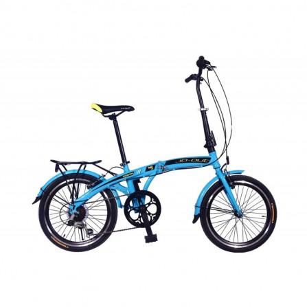 Vélo PLIANT IN-OUT Fold 20 - Zimota - Bleu (10020080)