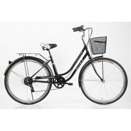 Vélo IN-OUT CITY 700 2.0 - Zimota - Noir (10026702)
