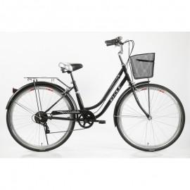 "Vélo IN-OUT CITY 700 2.0 - 26"" Zimota - Noir (10026702)"
