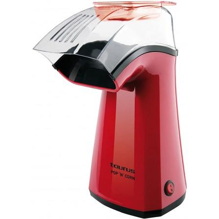 Machine à POP-CORN TAURUS 1100W - Rouge (968375)