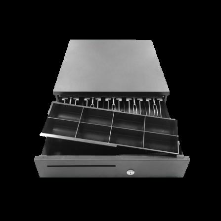Tiroir - Caisse Électronique en Métal - Noir (ECD-410G)
