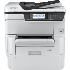 Imprimante EPSON Multifonction Work Force PRO WF- C878RDWF A3+ RIPS (C11CH60402)