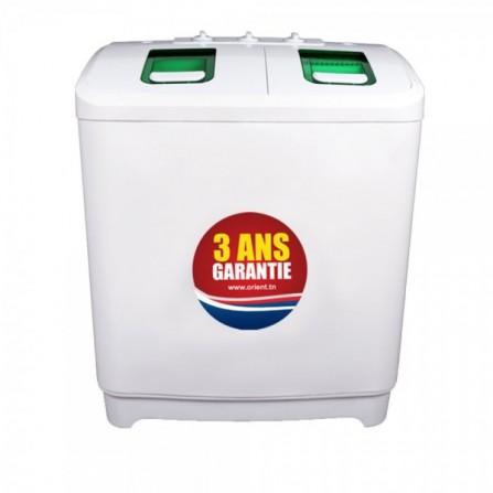 Machine à Laver Orient Semi-Automatique 12,5 kg - Blanc (XPB1*12-5P)