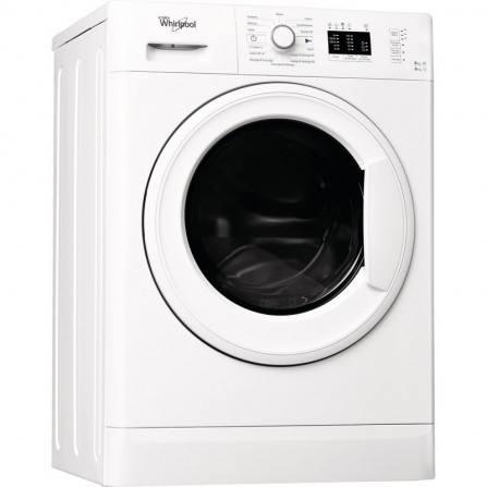 Machine à Laver Frontale WHIRLPOOL 8kg - Blanc (FWG81284W NA)