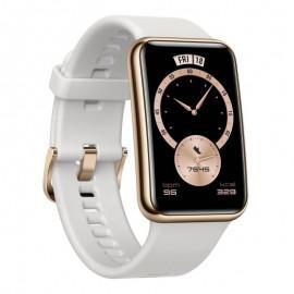Montre Connectée HUAWEI Watch Fit Élégant - Blanc (STIA-B29-WHITE)