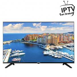 "Téléviseur  TELEFUNKEN 43"" M83 LED Full HD - Noir (TV43M83) + ABON IPTV 1AN"