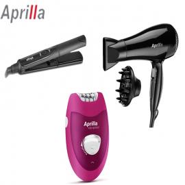 Pack APRILLA Sèche-Cheveux + Lisseur Céramique + Épilateur électrique (Pack-Aprilla)