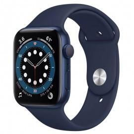 Montre Connectée Apple Séries 6 40mm - Bleu (MG143ZP-A)