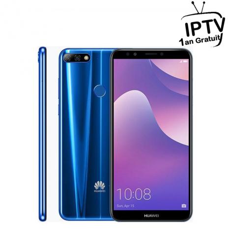 Smartphone Huawei Y7 Prime 2018 Bleu (Y7P2018BL)